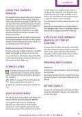 Supplementary Owner's Handbook Supplementary Owner's Handbook - Page 5