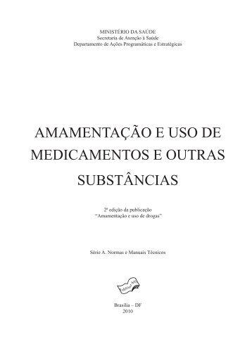 Amamentação e uso de medicamentos e outras substâncias