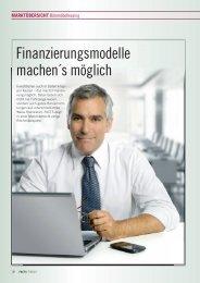 Finanzierungsmodelle machen´s möglich