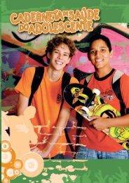 Caderneta de Saúde do Adolescente - menino, 2009.