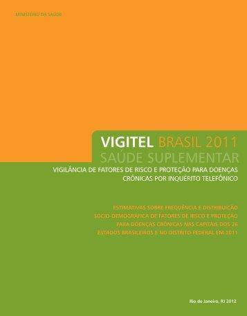 VIGITEL BRASIL 2011 - BVS Ministério da Saúde