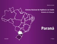 Sistema nacional de vigilância em saúde - BVS Ministério da Saúde