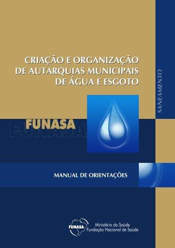 Autarquias Municipais de Água e Esgoto - BVS Ministério da Saúde