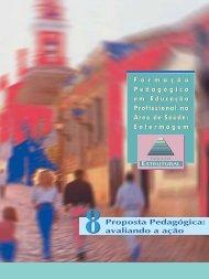 Proposta pedagógica: avaliando a ação - BVS Ministério da Saúde