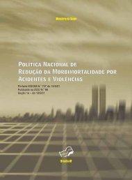 Política Nacional de Redução da Morbimortalidade por Acidentes e ...