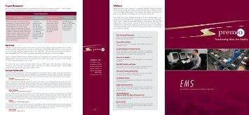 EMS Brochure - Premio, Inc.