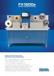 FX1200e Brochure English - Primera EU