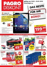 Flugblatt downloaden (PDF) - Pagro