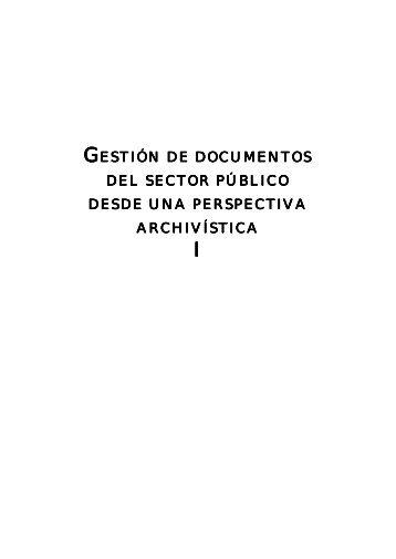 Gestión de documentos del sector público desde una - International ...