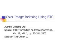 Color Image Indexing Using BTC