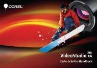 Corel VideoStudio Pro X4 – Erste-Schritte-Handbuch