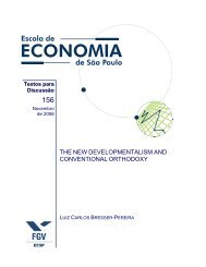 the new developmentalism and conventional orthodoxy - Sistema de ...
