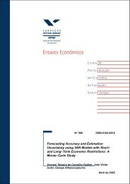 Forecasting Accuracy and Estimation Uncertainty using VAR Models ...
