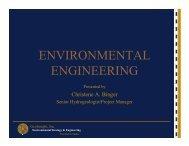 ENVIRONMENTAL ENGINEERING - The Leitzel Center