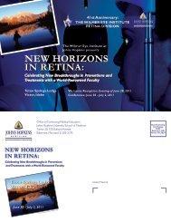 IN RETINA: NEW HORIZONS - Hopkins CME Blog