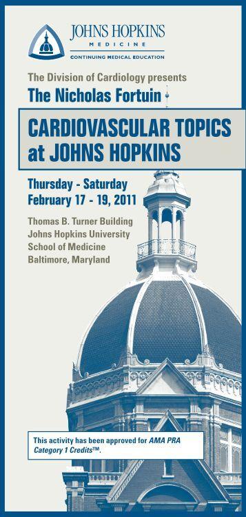 CardiovasCular TopiCs at Johns hopkins - Hopkins CME Blog
