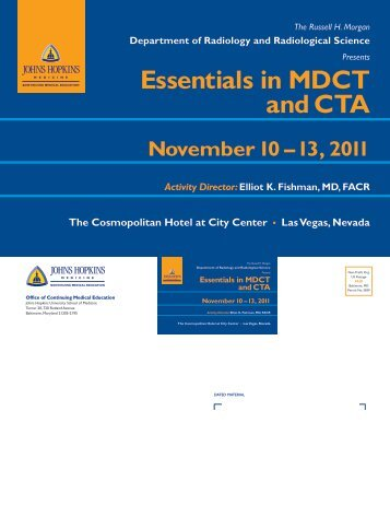 Essentials in MDCT and CTA - Hopkins CME Blog