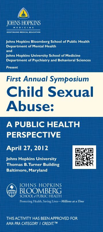 Child Sexual Abuse: - Hopkins CME Blog