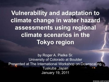 PPT-117 - Climate Science: Roger Pielke Sr.