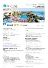 Page 1 1/3 PALOMA Pasha Resort, Özdere | Summer 2013 Fact ...