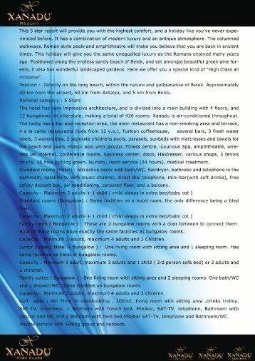 XANADU RESORT - FACT SHEET.pdf