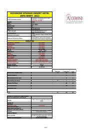 RICHMOND EPHESUS RESORT INFO SHEET 2012.pdf