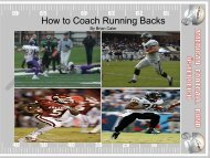 How to Coach Running Backs
