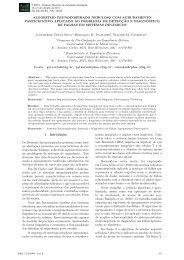 algoritmo imunoinspirado nebuloso com agrupamento ... - Fei