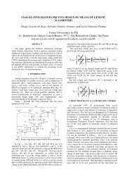 ANALOG INTEGRATED CIRCUITS DESIGN BY MEANS OF GENETIC ALGORITHMS ...