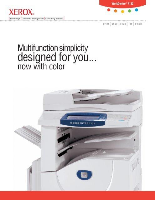 WorkCentre 7132 Brochure - Xerox