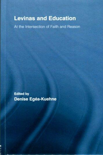 Levinas and Education - VPU biblioteka