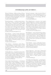 INFORMACIJA APIE AUTORIUS - VPU biblioteka