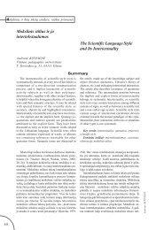 Visas tekstas - VPU biblioteka - Vilniaus pedagoginis universitetas