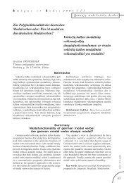 Zur Polyfunktionalität der deutschen Modalverben oder: Was ist ...