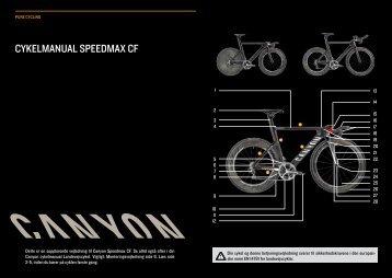 CYKELMANUAL SPEEDMAX CF - Canyon