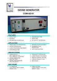 Anseros Ozone Generator COM-AD-01