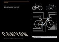 BICYCLE MANUAL ROAD BIKE - Canyon