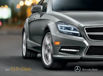 2012 CLS-Class Brochure - Mercedes-Benz USA