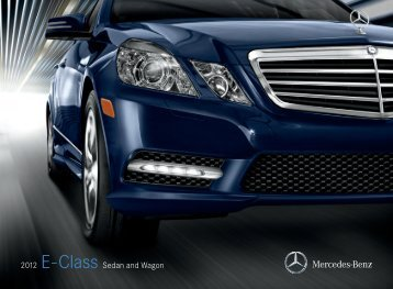 2012 Mercedes-Benz E-Class Sedan and Wagon - Lithia Labs