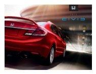 2013 Honda Civic brochure