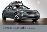 Genuine Accessories for the S-Class - Mercedes-Benz USA