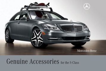 genuine accessories for the e class mercedes benz canada