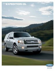 2013 Ford Expedition Brochure - ClickMotive