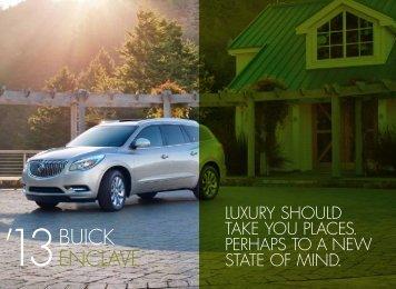 2013 Enclave - Buick