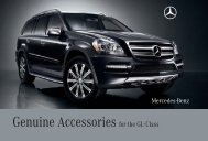 Genuine Accessories for the GL-Class - Mercedes-Benz USA