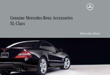 Genuine mercedes benz accessories clk class partes for Mercedes benz usa accessories