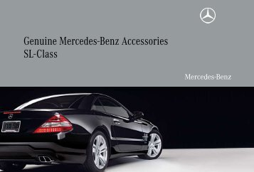 Genuine Mercedes-Benz Accessories SL-Class - Mercedes-Benz USA