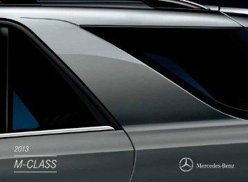 2013 Mercedes-Benz M-Class - Motorwebs