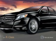 2012 Mercedes-Benz R-Class - Mercedes-Benz USA