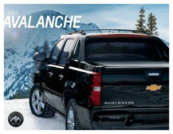 Avalanche Brochure - Chevrolet